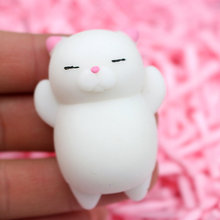 iWish Squeeze Mini Change Color Squishy Cute Cat Antistress Ball Mochi Rising Abreact Soft Sticky Stress Relief Funny Kids Toys