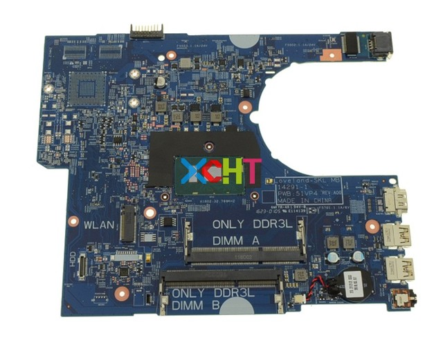 YKP8M 0YKP8M CN 0YKP8M 51VP4 14291 1 DDR3L w i5 6200U CPU for Dell Latitude 3470 3570 PC Laptop Motherboard Mainboard Tested