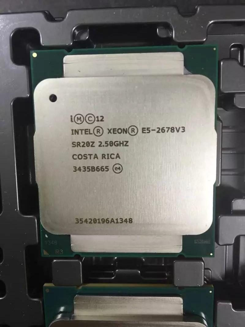 Intel Xoen E5 2683v3  CPU  Octa Core 2.53Ghz  Lga 2011-3 E5-2683 V3 Processor  Free Shipping