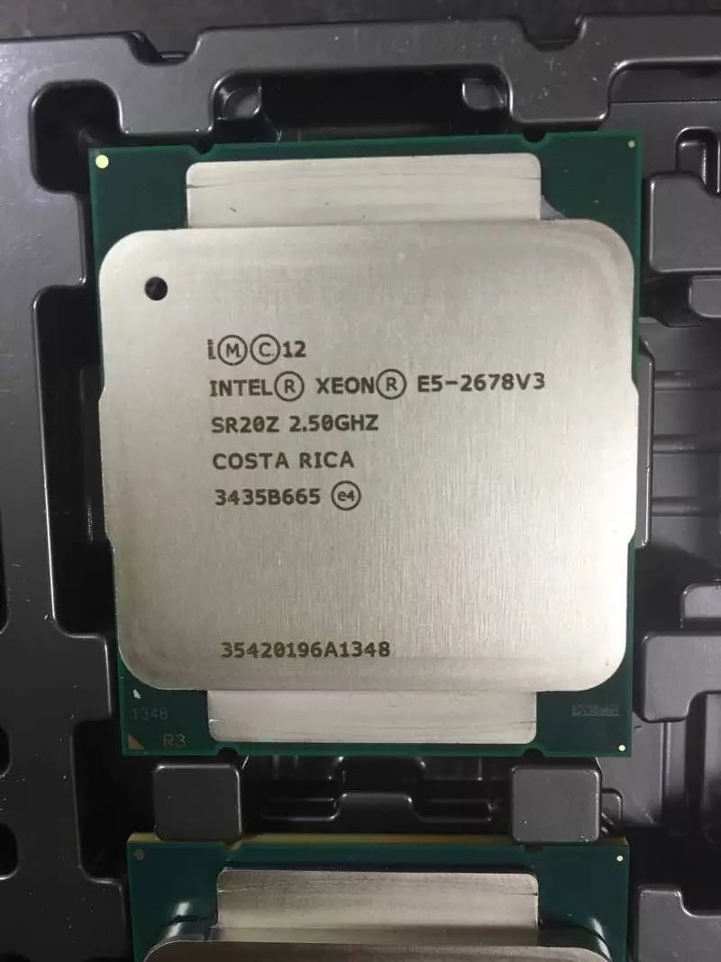 Intel Xoen E5 2683v3 <font><b>CPU</b></font> octa core 2.53Ghz lga <font><b>2011</b></font>-3 E5-2683 <font><b>V3</b></font> processor free shipping image