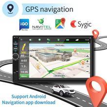 SWM 7018 7 pollici Android 8.1 Car Stereo MP5 Player GPS Navi Radio FM WiFi BT USB con Auto DVR del precipitare Della Macchina Fotografica Auto Video MP5 Giocatori