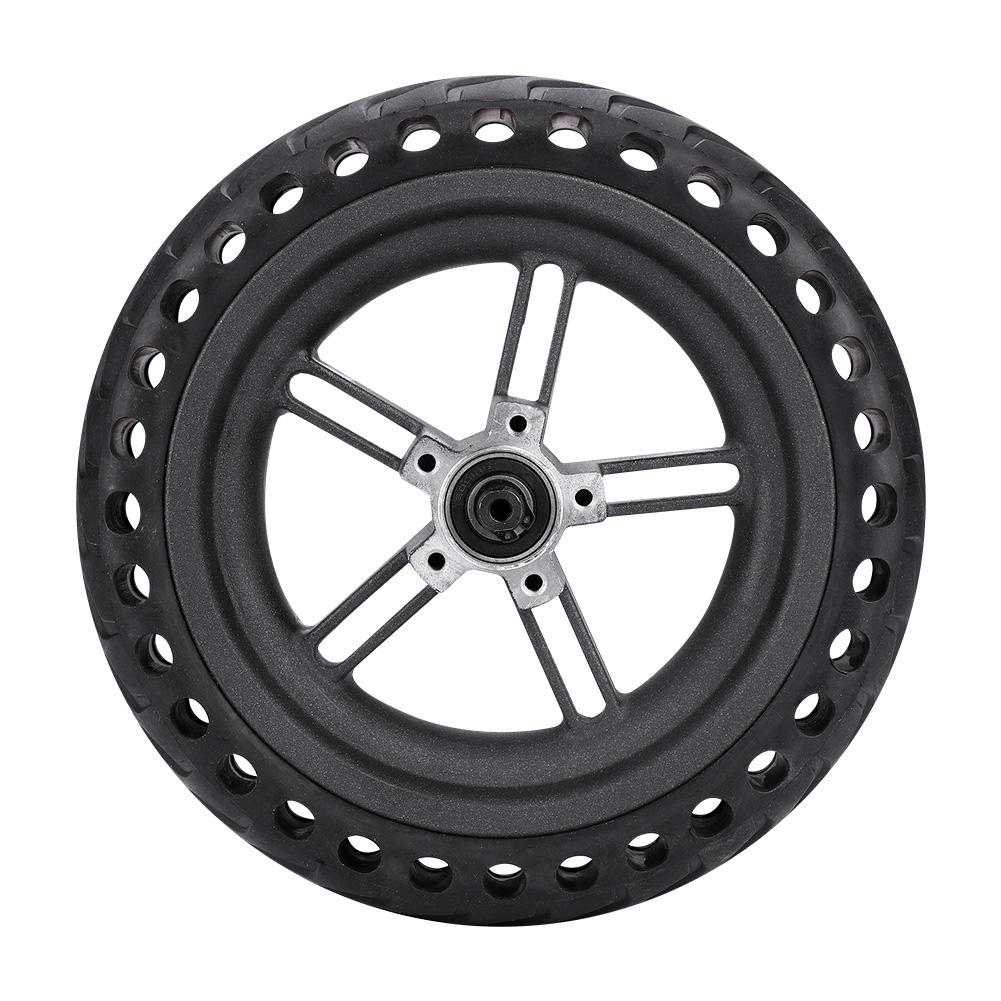 Electric Scooter Tire Anti Skidding Tire Wheels 21x21x5 5cm Wheel Hub Explosion Proof Tire Set for