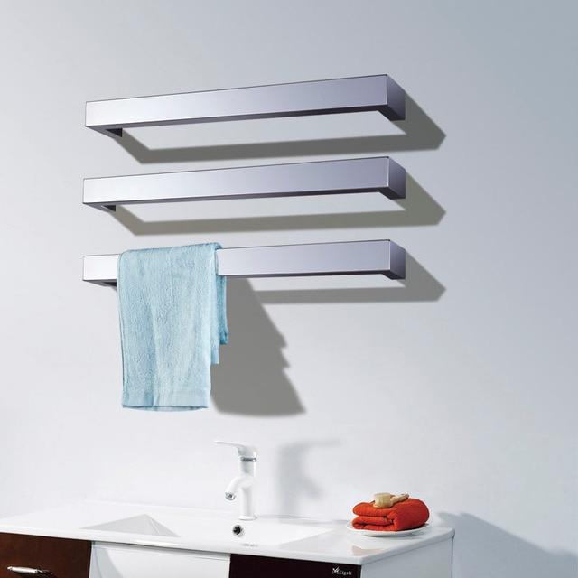 Free Shipping Wall Mount Type Electric Heated Towel Warmer Rack Towel Bar Rail Bathroom Accessory Towel Dryer Shelf HZ 924