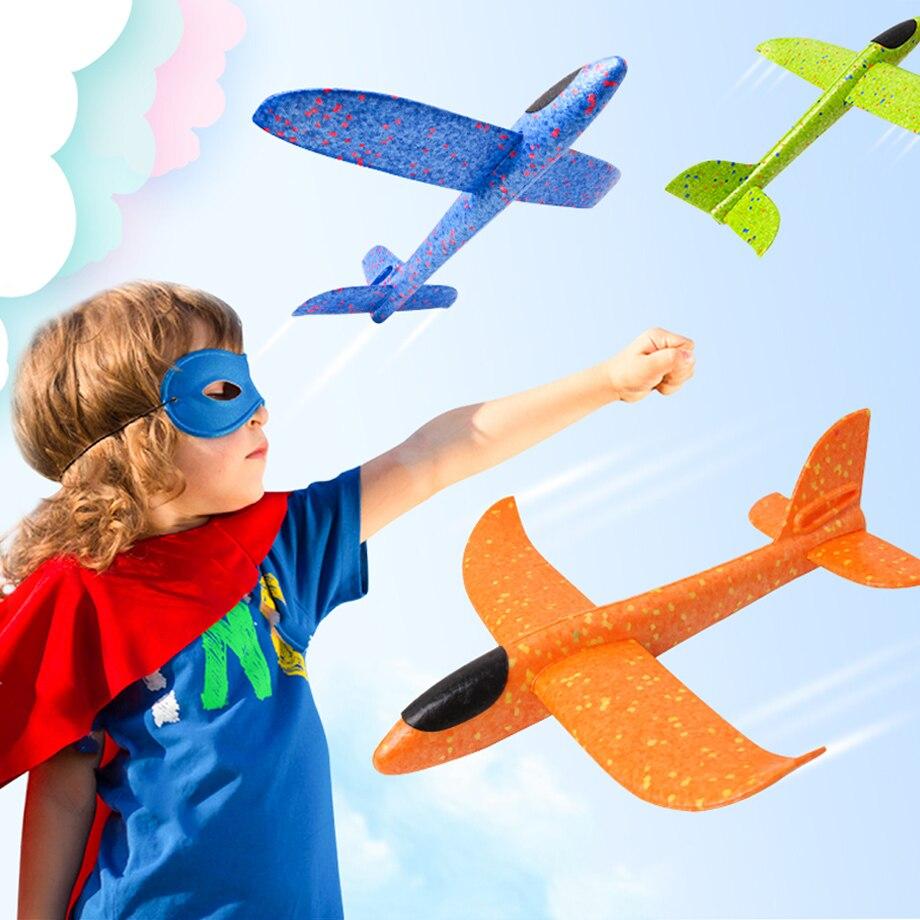 48 Cm Main Jet Vol Planeur Avions Mousse Avion Modèle Epp Résistant Breakout Avion Partie Jeu Enfants En Plein Air Fun Jouets Excellent Effet De Coussin