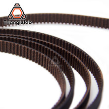 Trianglelab GATES-LL-2GT 2GT Belt Sabuk Sinkron GT2 Timing Belt Lebar 6 Mm 9 Mm Yang Tahan Terhadap Ender3 Cr10 Anet 3D Printer(China)