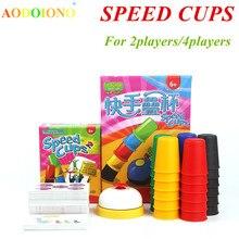 Классические карточные игры скоростные чашки карточные игры Семейные и детские настольные игры домашние игры с инструкциями на английском языке