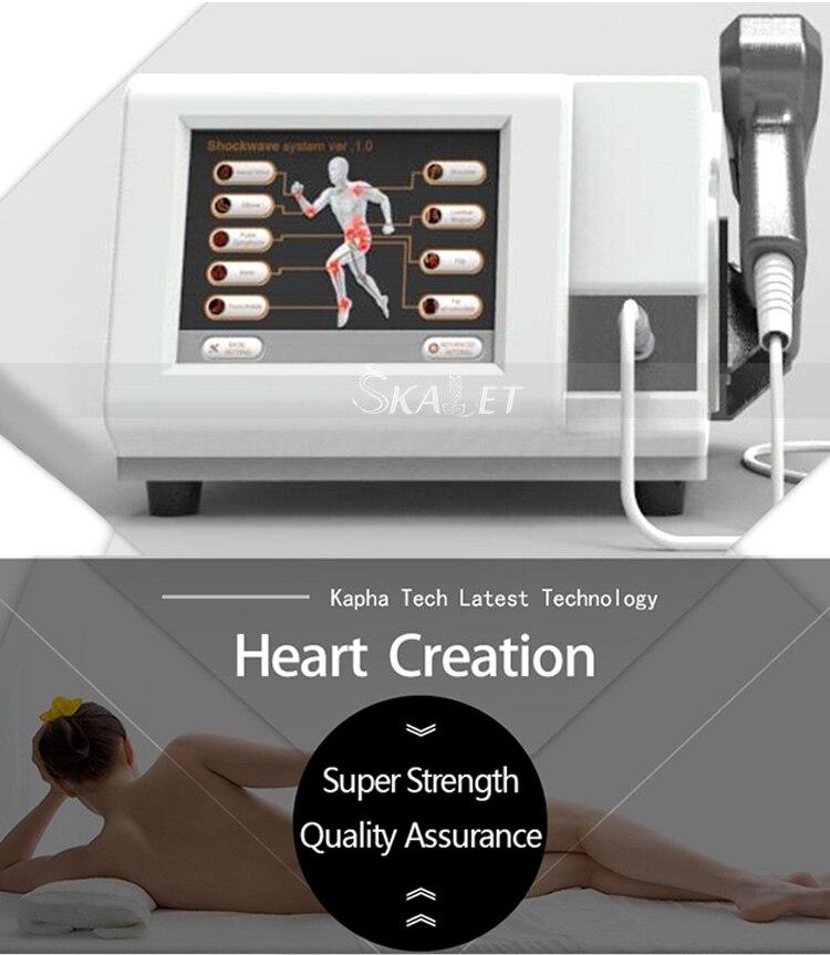 2019 La Più Recente Tecnologia eswt shockwave terapia macchina intelligente onda onda d'urto della macchina di terapia di trattamento della disfunzione erettile