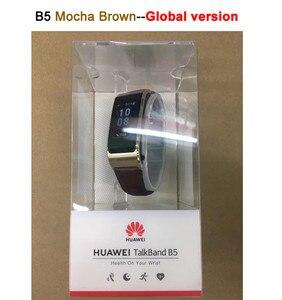Image 2 - Global Version Huawei TalkBand B5 Talk Band สร้อยข้อมือสมาร์ทสวมใส่กีฬาบลูทูธสายรัดข้อมือ Touch AMOLED หน้าจอ