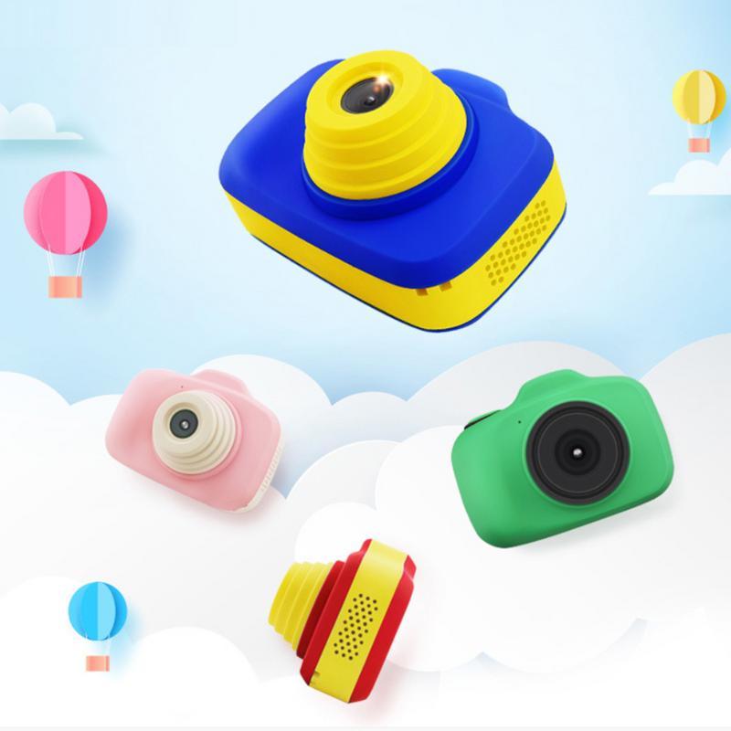 Jouets éducatifs pour enfants en bas âge Photo Hd caméra enfants Mini jouet appareil Photo numérique avec sangle de cou cadeaux de photographie pour bébés
