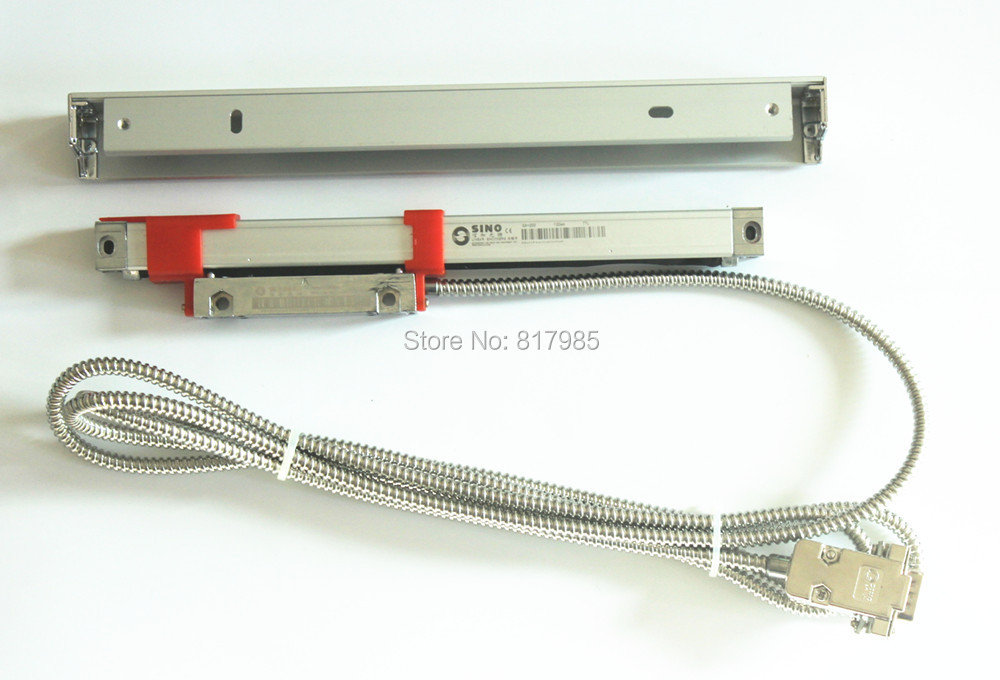 SINO slim linear scale 16*16mm cross section KA200 linear encoder 5micron resolution linear encoder linear scale encoder linear - title=