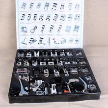 32pcs Mini Sewing Machine Presser Foot Feet for Brother Singer Janome Presser Feet Braiding Blind Stitch Darning Accessories Set