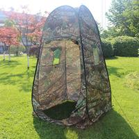 Camouflage Tent Outdoor Pop Up Camping Shower Bathroom Privacy Toilet Changing Room Shelter Single Moving Folding Tents Fishing