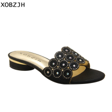 7e490307a9f87 Rhinestone Flat Sandals Promotion-Shop for Promotional Rhinestone Flat  Sandals on Aliexpress.com