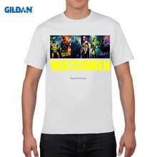 8a577bf698e GILDAN t camisa verano estilo hombres T camisas de dibujos animados  vigilantes camisetas Casual de manga