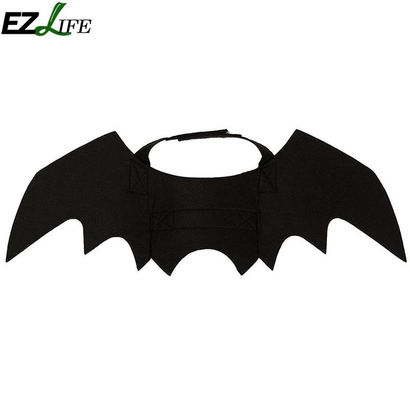 1pc New Black Cats Cosplay Costume Pet Bat Wings Cat Fit Party Dogs Playing Accessories In Clothing From Home Garden On