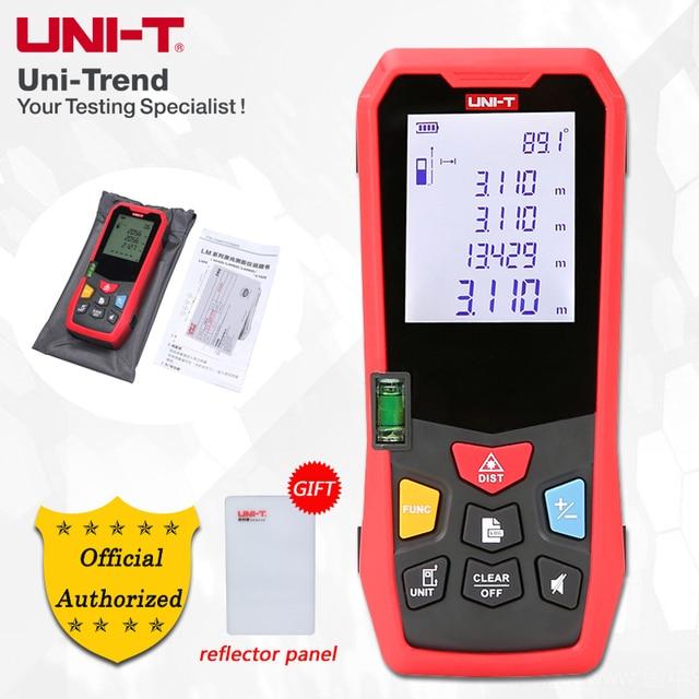 UNI-T LM40/LM50/LM60/LM80/LM100/LM120/LM150 Laser Distance Meters; 40/50/60/80/100/120/150m Electronic distance measuring ruler