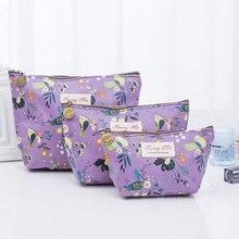 Waterproof Cosmetic Bag Korean Version New Art Graffiti Printed Hand BagWomen Makeup Bags Female Zipper Portable Make Up