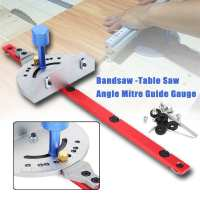 Miter Gauge Wood Working Tool For Bandsaw Table Saw Router Angle Miter Gauge Guide Fence Woodworking Machinery Parts