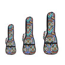 Национальный народный стиль 21 ''23'' 26 ''укулеле сумка рюкзак на одно плечо/двойные плечевые ремни Gig сумка Ukelele чехол для переноски