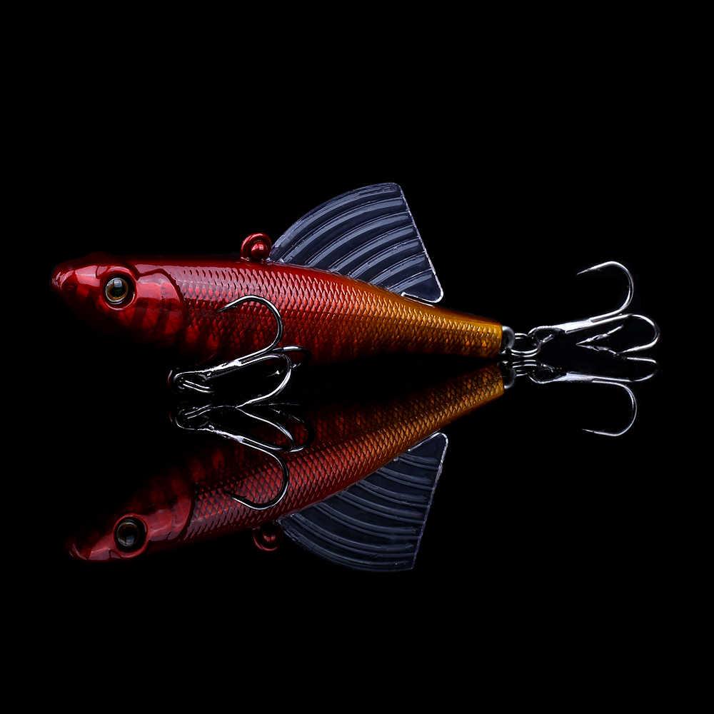 Biwvo 17g 7cm Jig Metall Waren Für Angeln Crankbait Lockt Tintenfisch Wobbler Winter Angeln Octopus Hard Jigging Lametta minnow Ente