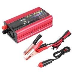 1500W Car Power Inverter USB Charger Converter Adapter Modified Sine Wave DC 12V/24V to AC 220V Car Accessories New arrives