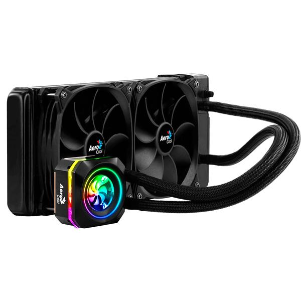 Low Clearance Hose Coolant System RGB Aerocool Press L240 To Processors Intel AND AMD