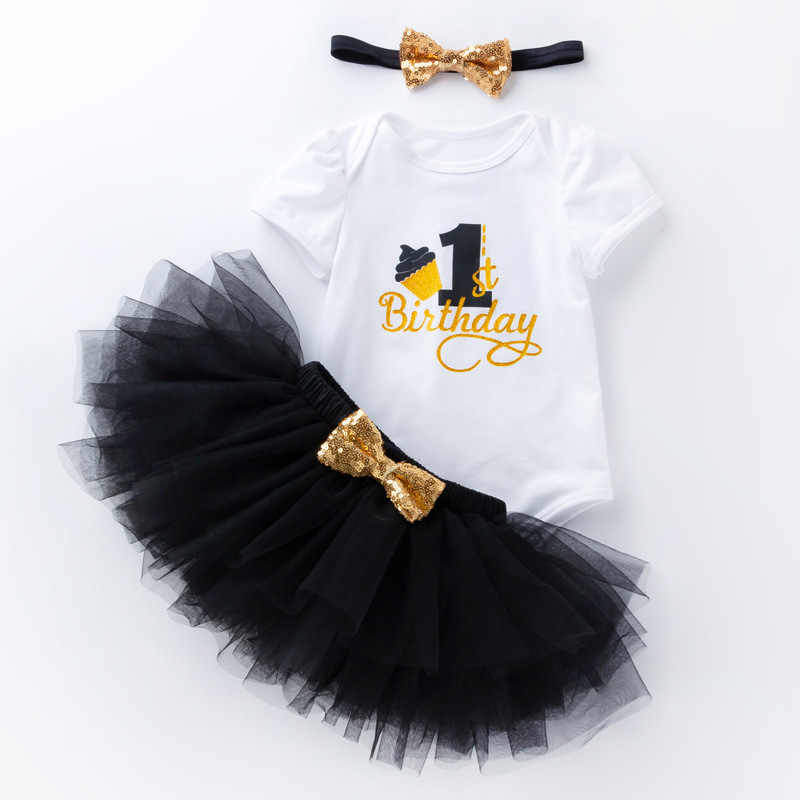 3f1e358704d7e My Little Girl 1st Birthday Party Sets Baby Tutu Dress Infant Newborn for  Bebe Outfits Sets First Christmas Gift Baptism Clothes