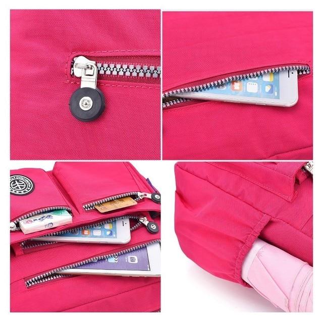 TTOU Ladies Fashion Shoulder Bags for Women Designer Waterproof Nylon Handbag Zipper Purses Messenger Crossbody Bag sac a main 5