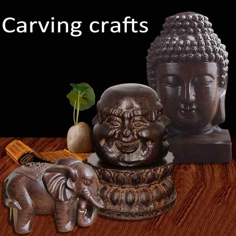 עץ גילוף בוטיק דקור ברכה בודהה אמנויות ומלאכות פסל עיצוב הבית מזל מתנות גילוף מלאכות קישוט
