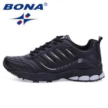 Running-Shoes Walking-Sneakers BONA Comfortable Sport Men Most Outdoor Popular-Style