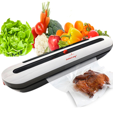Electric Vacuum Sealer Packaging Machine Household for Food Saver 110V 220V with 10PCS Food Storage Bags Vacuum Sealer Bag