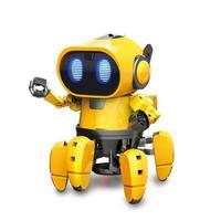 AI Intelligent DIY Robot Children's DIY Education Model Assembly Set Walking Talking Toy Robot Children's Interactive Play Robot