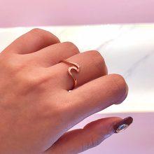 d2674f6bc8d7 Mossovy onda de aleación de Anillos de plata encantos anillo de oro Anillos  de boda para las mujeres joyería de moda Mujer Anill.