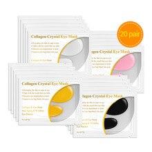 Lanbena 24k Gold Serum Collagen Eye Mask Patches Dark Circle Puffiness Bag Anti-aging Wrinkle Skin Care 40pcs=20pair
