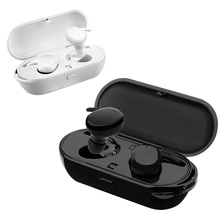 Bluetooth 5.0 Wireless Earphone T2C TWS Mini Sport Waterproof Headset Touch Control Earbuds With Mic Portable Charging Box
