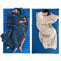 Down Sleeping Bag Lightweight Envelope Warm Spliced Sleeping Bag for Adults Outdoor Trekking Camping Hiking