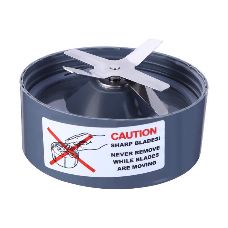 Conteneur en acier inoxydable lame droite/croisée pour Nutribullet Nutri Bullet Blender extracteur extracteur remplacement 600 W 900 W