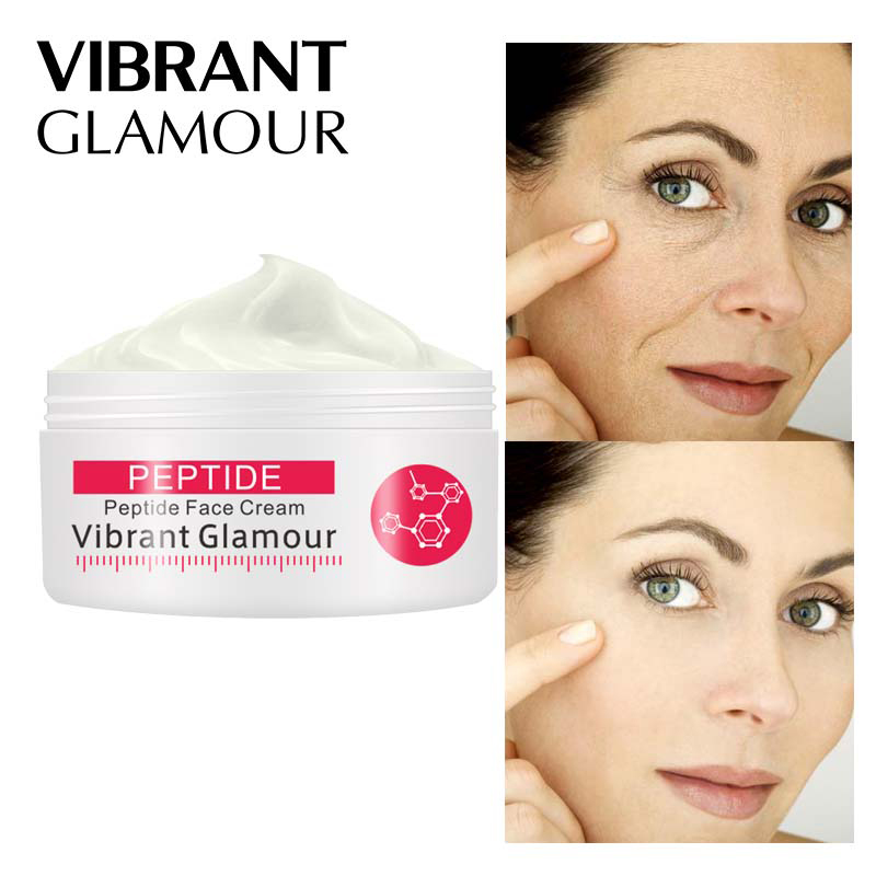 Peptide Face Cream Argireline Pure Collagen Cream Anti-Wrinkle Firming Anti Aging Nourishing Moisturizing Care