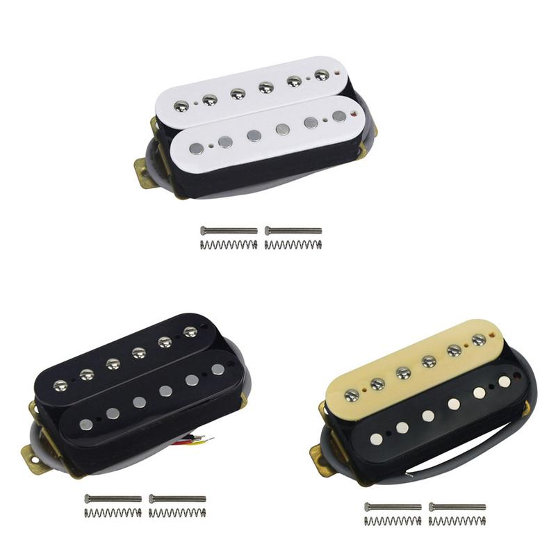 buy new electric guitar pickup 6 fixed 6 adjustments electric guitar double. Black Bedroom Furniture Sets. Home Design Ideas