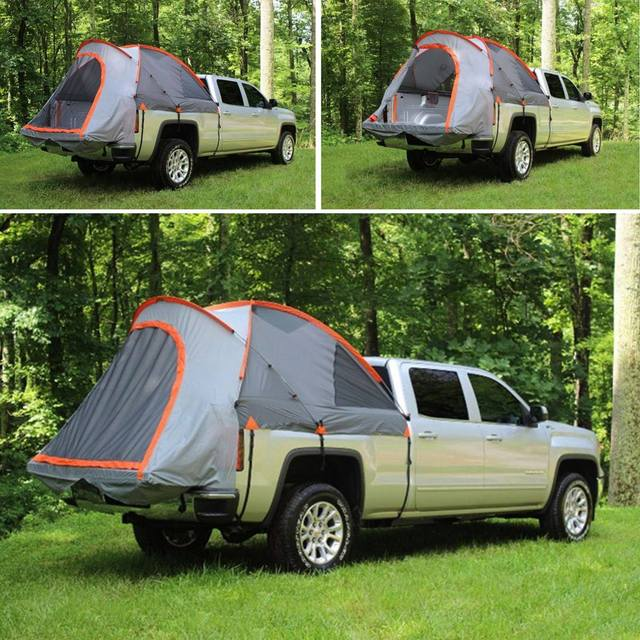 Us 184 03 44 Off 2 People Outdoor Camping Pick Up Truck Bed Tent Suv Waterproof Canopy Campers Pickup Cover Tent Roof Traveling Car Fishing Tents On