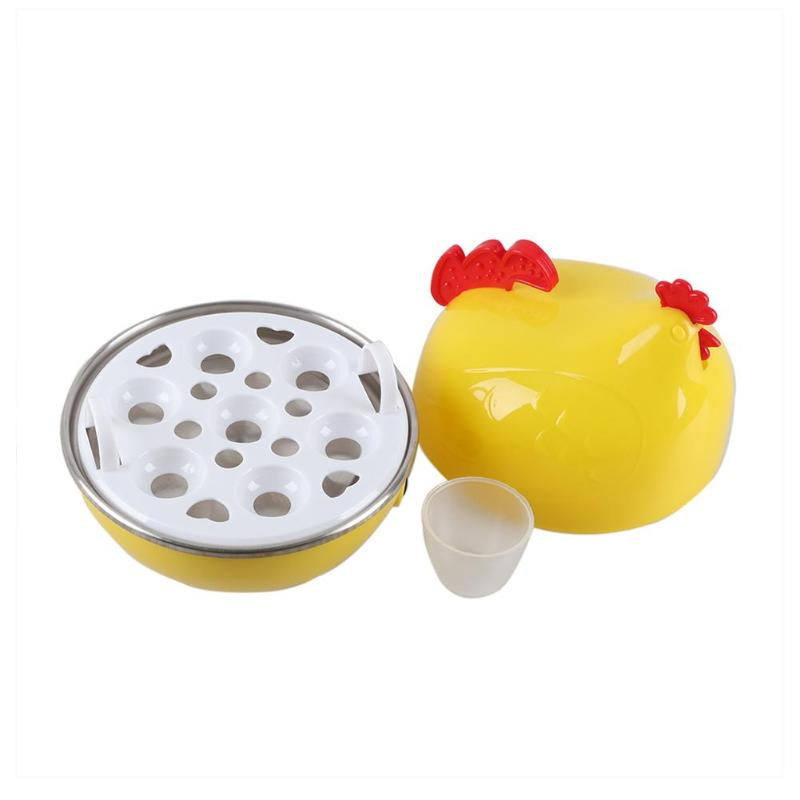 350W Multifunctional Household Electric Mini Cute Eggs Boiler Cooker Steamer For Up To 7 Eggs Home Kitchen