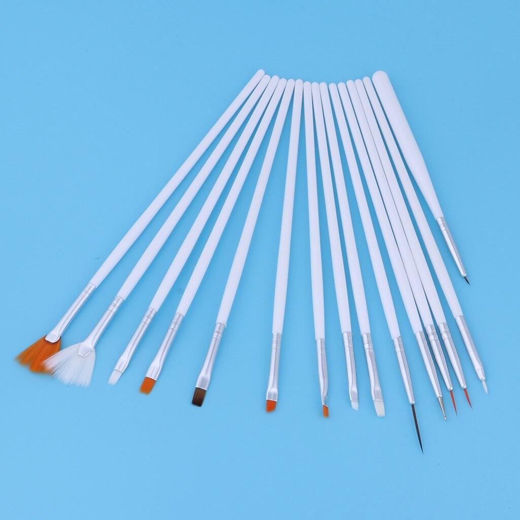15pcs Professional Model Coloring Pen Model Tools