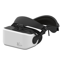docooler VIULUX V8 VR PC Helmet 3D Glasses Headset Game Movie Virtual Reality Headset PC Connected Display Refresh Rate(China)