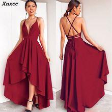 Bandage Long Autumn Winter Dress Women Sexy Backless Beach Party Dress Plus Size Vintage Bridesmaids Dress Robe Red Vestidos 3XL цена