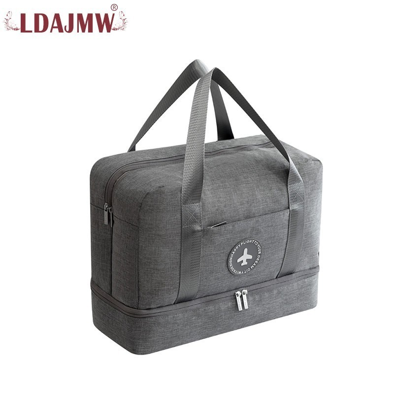 User-friendly Design For Men And Women Dry And Wet Separation Multi-function Large Capacity Solid Color Waterproof Travel BagUser-friendly Design For Men And Women Dry And Wet Separation Multi-function Large Capacity Solid Color Waterproof Travel Bag