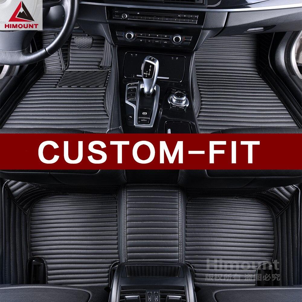 Tapis de sol de voiture personnalisée pour SsangYong Tivoli XLV Korando Actyon Kyron Rexton W 3D voiture-style haute qualité tapis tapis liners