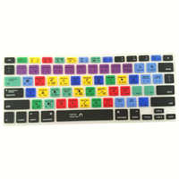 For Adobe Photoshop Illustrator Shortcut Keyboard Silicone Protection Cover Film Sticker For Macbook Pro Air 13 15 17 Protector