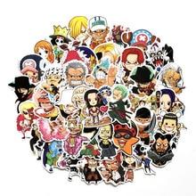 zcpace 60 PCS Anime One Piece Vinyl Luffy Zoro Tony Chopper
