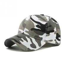 New Fashion Adjustable Unisex Army Camouflage Camo Cap Casquette Hat Fishing Men Women Outdoor Desert Hats