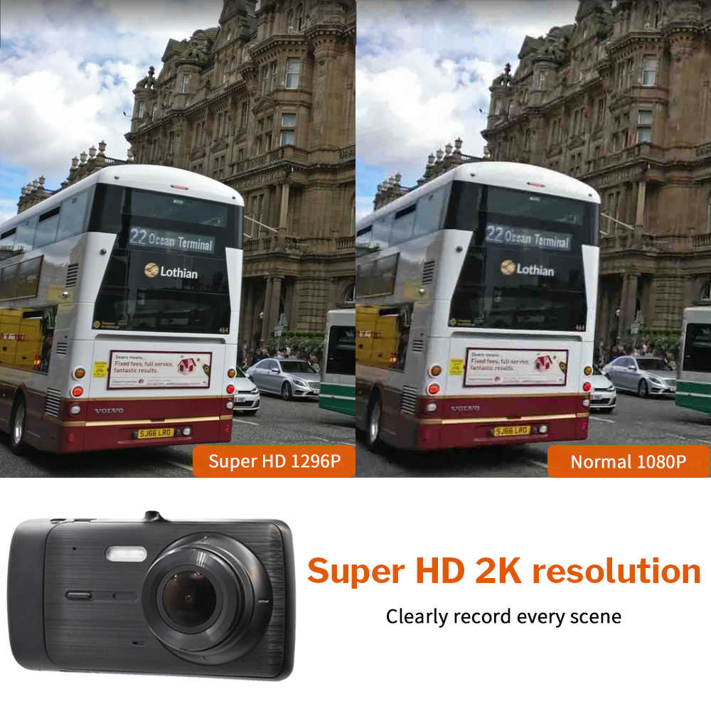 Deelife Car Dvr Dash Camera Cam Full Hd Video Recorder Registrator Auto Dual Cameras For In Cars Dashcam Vehicle Black Dvrs Box